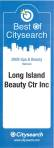 LONG ISLAND BEAUTY CITYSEARCH AWARD